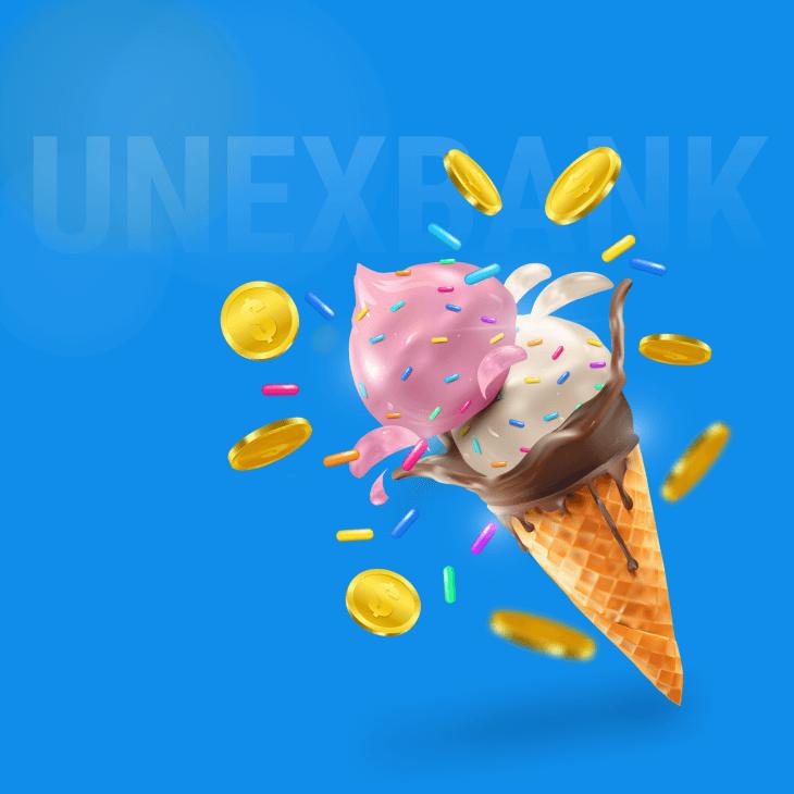 UNEX BANK ICE CREAM