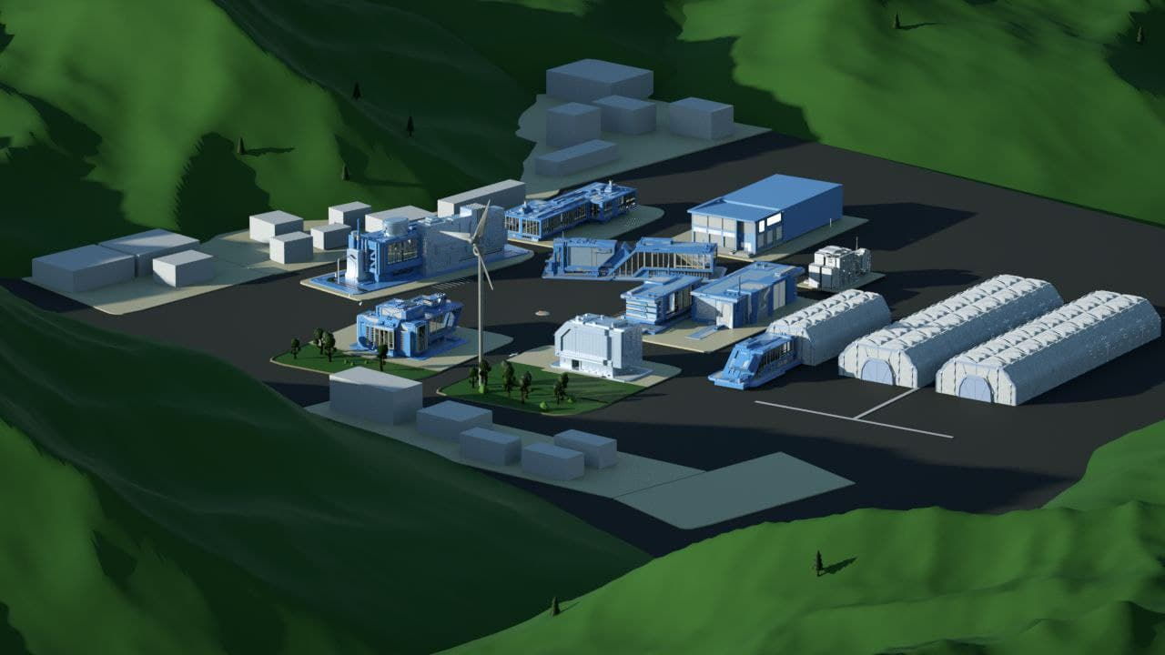 Тубный завод в 3D